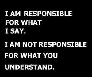 quotes, text, and responsible image