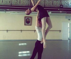 art, ballerina, and girl image