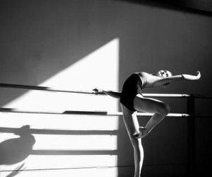 art, ballerina, and ballet shoes image