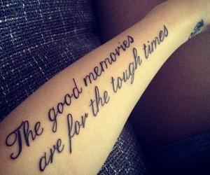 tattoo, memories, and good image
