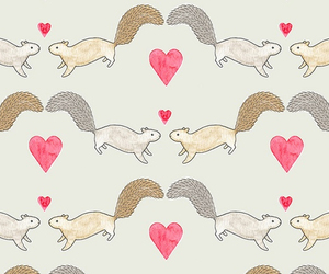 animals, cute animals, and heart image