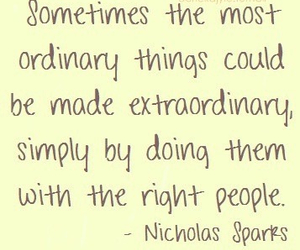 quote, nicholas sparks, and people image
