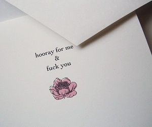 fuck you, text, and typography image