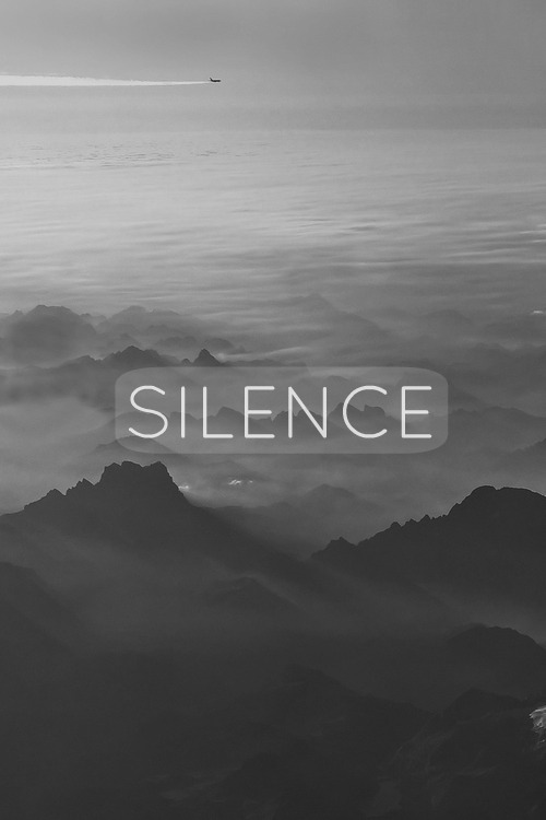 Silence tumblr uploaded by angie echelon on we heart it
