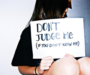 girl, text, and judge image