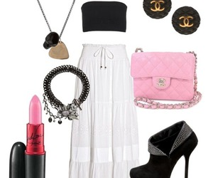 ankle boots, bag, and bandeau image