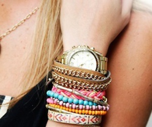 bracelet, girl, and love image
