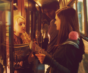 bonnie wright, evanna lynch, and ginny weasley image
