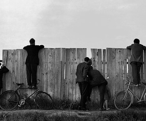 bicycle, bikes, and black and white image