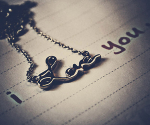 love, I Love You, and necklace image