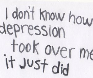 depression, sad, and quote image