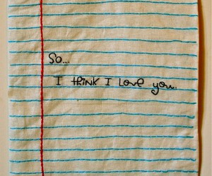 love, Paper, and quote image