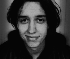 julian casablancas, the strokes, and black and white image