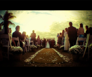 amor, casamento, and por do sol image