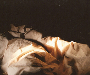 bed, indie, and light image
