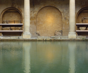 bath, uk, and water image
