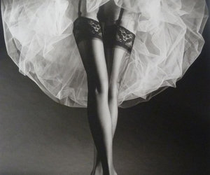 black and white, sexy, and legs image