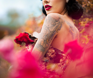 tattoo and Pin Up image