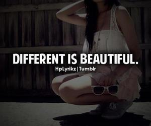 beautiful, diffrent, and girl image
