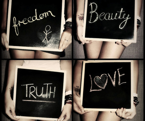 beauty, freedom, and love image