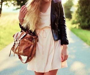 fashion, dress, and purse image