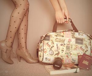 book, camera, and bag image