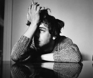 black and white, boy, and xavier dolan image