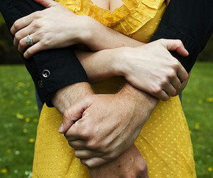 couple, hand, and hug image