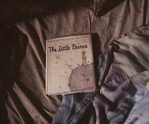 book, the little prince, and vintage image