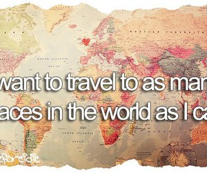 travel, world, and quote image