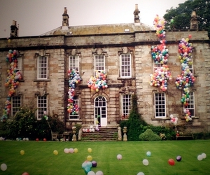 balloons, house, and tim walker image