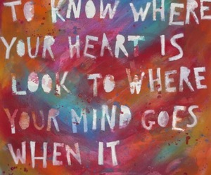 quotes, heart, and mind image