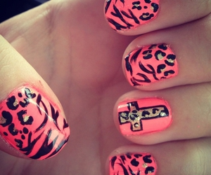 animal print, cross, and musthave image