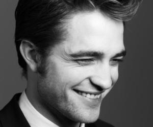 robert pattinson, boy, and black and white image