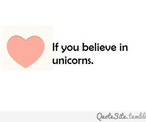 heart, unicorns, and love image