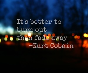 kurt cobain and quote image