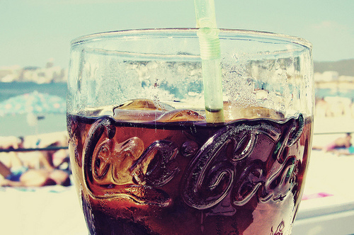 coca cola, summer, and drink image