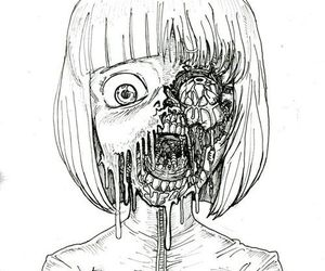 zombie and drawing image