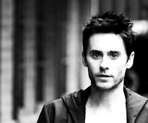 30 seconds to mars, black and white, and jared image