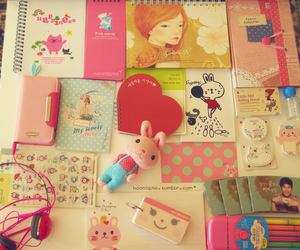 cute, girly, and korean image