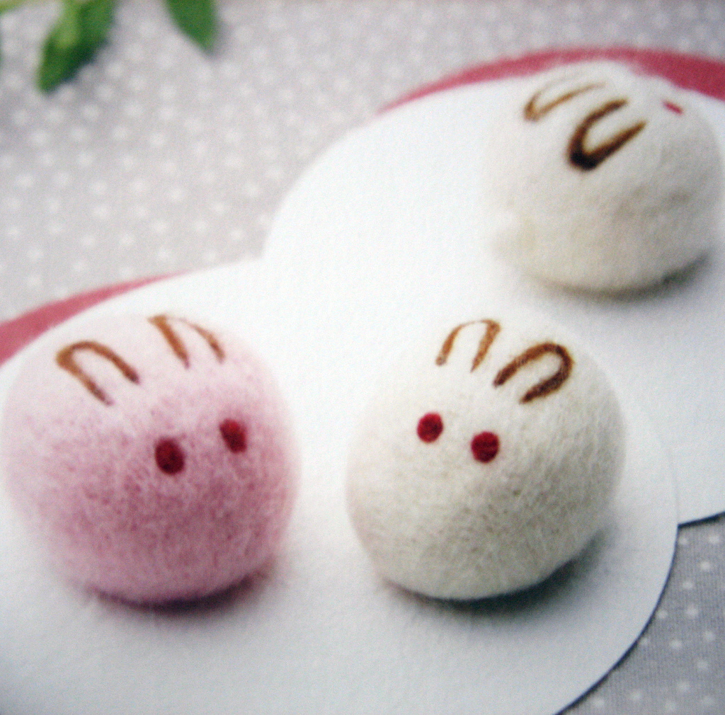 asian, bunny, and decoration image