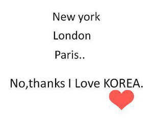 korea and love image