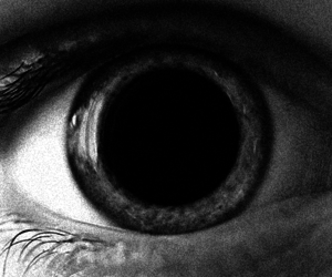 drugs, eyes, and black and white image