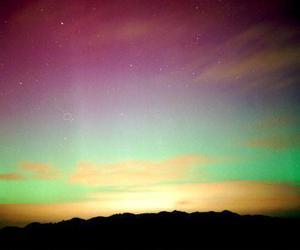 sky, colorful, and aurora image