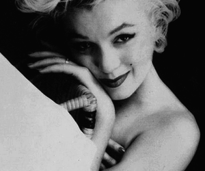 beautiful, Marilyn Monroe, and black and white image