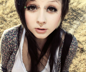piercing, girl, and elli altman image