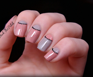 caviar, nail art, and halfmoon image