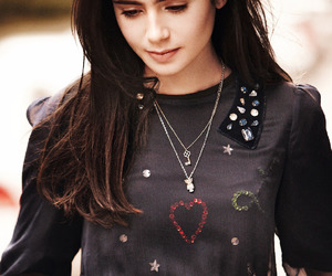 <3 and lily collins image