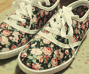 floral and floral shoes image