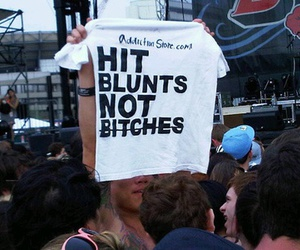 bitch, blunt, and weed image